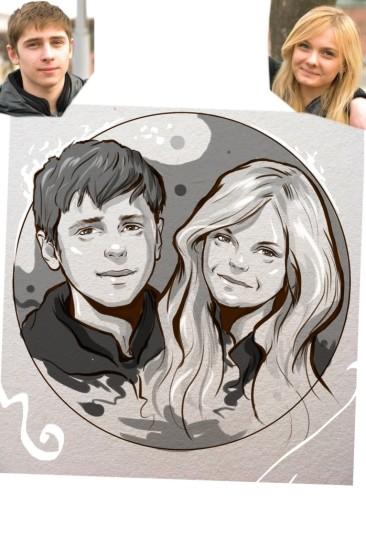 Заказать портрет на годовщину свадьбы в Астраханье