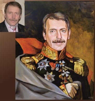 Настоящий портрет маслом на заказ в Астрахане
