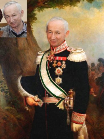 Где заказать исторический портрет по фото на холсте в Астрахани?