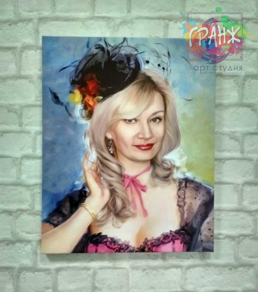 Картина по фото Астрахань