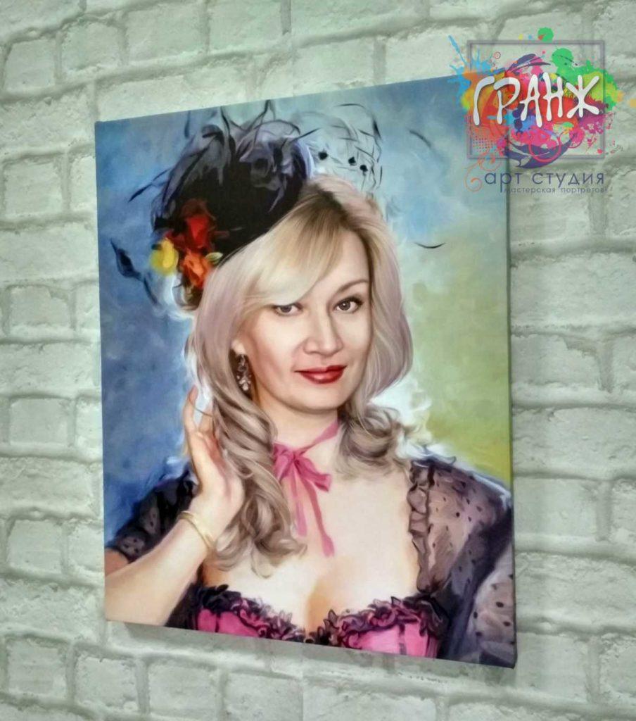 портреты на заказ по фото Астрахань