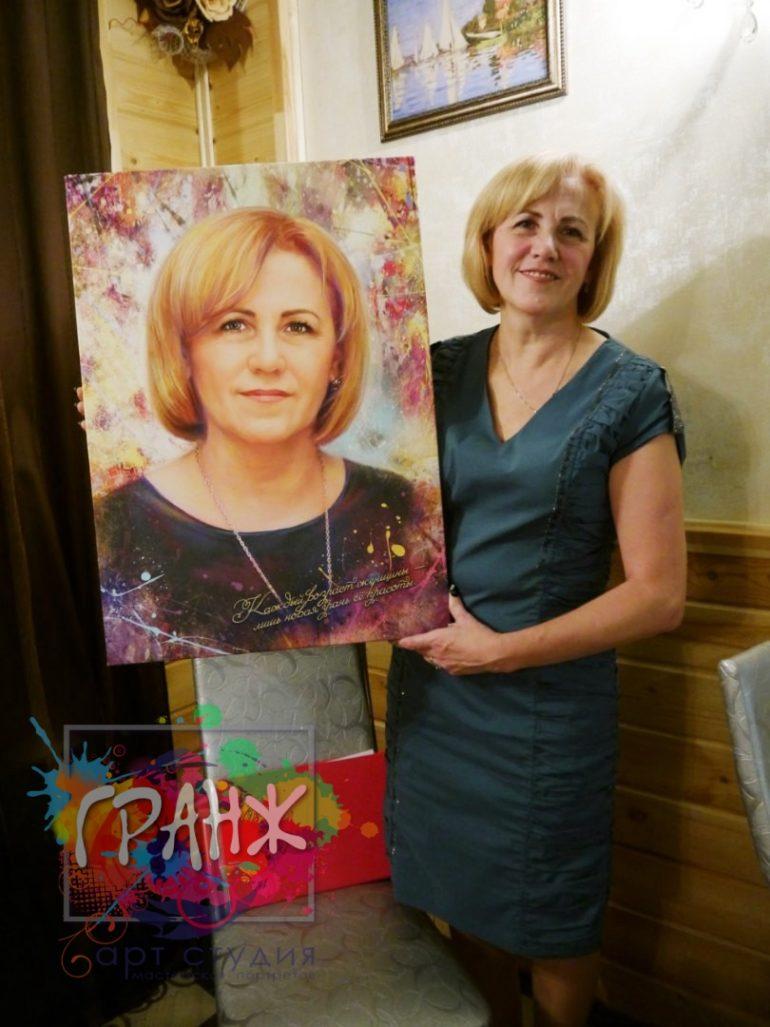 Портрет на заказ Астрахань
