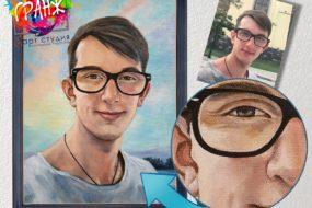 Портретная живопись маслом, купить в Астрахани